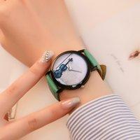 relógios de luxo venda por atacado-Instrumento Musical de Quartzo Relógios das Mulheres Coloridas Fantasia Temperamento Senhoras Casuais Relógios De Pulso Simples Presentes de Aniversário 2018 #d T190619