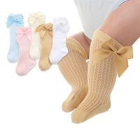 Wholesale kids legging cute for sale - Group buy Cute Baby Girls Summer Infants Kids Toddlers Girls Boys Knee High Socks Tights Leg Stockings Hollow Out Warmers