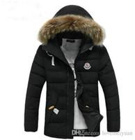 jaqueta militar das mulheres brancas venda por atacado-2019 frete grátis canadá marca venda quente moda preço de atacado homens para baixo casaco inverno jaqueta tomada fábrica