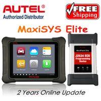alet j2534 toptan satış-AUTEL MaxiSys Elite Araba Teşhis J2534 ECU Programlama aracı Autel'den Daha Hızlı maxisys pro MS908p Ücretsiz Güncelleme Autel Web Sitesinde 2 Yıl