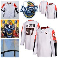 Wholesale division hockey resale online - Connor McDavid All Star Pacific Division Male Gaudreau Burns Kopitar Marchessault Gibson Fleury Miller Hockey Jerseys Stitched White