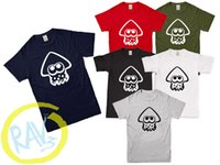 Wholesale multiple games online - Inkling Squid Splatoon Switch Game Inspired Kids Adult T Shirt MULTIPLE COLOURS Funny Casual Tshirt top