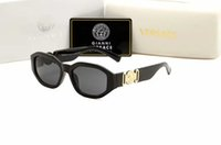 erwachsenes metall großhandel-2019 SOMMER Frauen Metall Brille Luxus Erwachsene Sonnenbrille Damen Marke Designer Mode Black Eyewear Mädchen fahren Sonnenbrille 4361