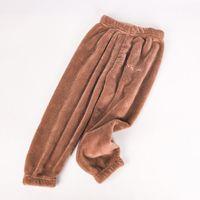 Wholesale kids pyjama pants for sale - Group buy Kids Winter Pyjamas Boys Warm Cotton Thickening Pajama Trousers Children Elastic Waist Soft Pants