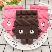Wholesale toy chocolate for sale - Group buy Cross border special supply Super slow rebound pu simulation chocolate people squishy foreign trade hot decompression vent toys