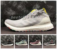 New Kith Ultra Boost Mid Ultraboost Uncaged Ultra Boosts Mens Running Shoes  Designer Boots Multicolor Og Cream Primeknit Athletic Size 13 aee3c2eca