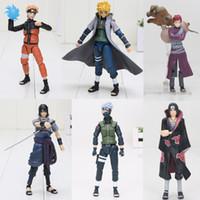 Wholesale itachi toys resale online - 15cm Shf Sasuke Namikaze Hatake Kakashi Uchiha Itachi Pvc Action Figures Toys S H Figuarts Susuke Naruto Figure C19041501