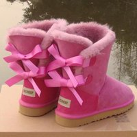 Wholesale c grains resale online - 2017 Christmas Promotion Womens boots BAILEY BOW Boots NEW Snow Boots for Women