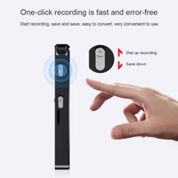 Wholesale voice recorder for cards for sale - Group buy Professional Small Voice Recording Pen Portable TF Card Noise Cancellation For Conference Lecture Meeting Audio Recorders