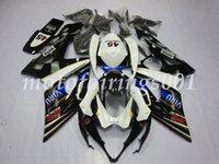motorrad kundenspezifische körperinstallationssatz großhandel-Hochwertige neue ABS Motorrad Verkleidung Kit für Suzuki gsxr100010001000k5 2005 2006 Body Kit Custom Free Viru