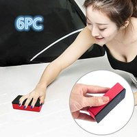 Wholesale car polish sponge for sale - Group buy 6pc magic clay sponge stick car mat cleaning eraser wax polishing pad tool cleaning supplies easy to use