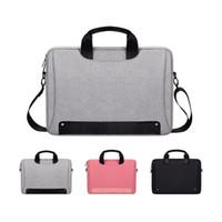 ingrosso cinghie da cartella-Borsa per laptop, borsa per laptop 13.3-14.1-15.4-15.6 pollici, tracolla, cartella per laptop impermeabile, custodia per borsa per notebook per Dell / HP / Lenovo / A