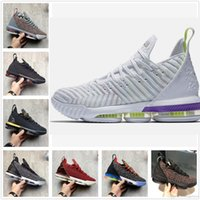 Wholesale big inflatable dolls resale online - 2019 New arrival Bass Lightyear colorways Oreo FRESH BRED What the XVI james Multicolor Basketball Shoes Lebron s Wolf Grey Sports