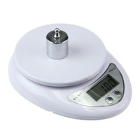 Wholesale kitchen scale diet resale online - 5000g g LED Electronic Scale Food Diet Postal Kitchen Digital Measuring Scales Weigh Balance electronic scales KKA7092