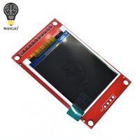 tft lcd ekran modülü toptan satış-WAVGAT 1.8 inç TFT LCD Modülü LCD Ekran SPI seri 51 sürücüleri 4 IO sürücüsü TFT Çözünürlük 128 * 160 1.8 inç arayüzü