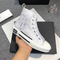 mode keil sneakers großhandel-Mode Frauen Turnschuhe Schuhe Casual Müßiggänger Zapatos De Mujer Wedges Plattform B23 High-Top-Turnschuhe In Oblique Breathable Damen Schuhe Casual