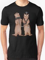 bdsm ücretsiz yeni toptan satış-Yeni Kinky Su Samuru - BDSM erkek T-shirt Giyim boyutu S-2XL üst ücretsiz kargo t-shirt