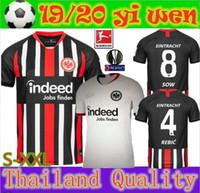 ingrosso campionato di calcio tailandese-Thai qualità 2019 2020 Eintracht Francoforte maglia da calcio 19 20 Francoforte Europa League HALLER JOVIC REBIC casa via maglie di calcio