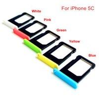 kostenlose iphone 5c sim karte großhandel-Free DHL Für iPhone 5 5s 5c SE SIM-Kartenhalter SIM-Halter, der das Originalfach ersetzt