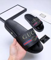 красное окно онлайн оптовых-Новая мода мужчины женщины тапочки сандалии скидка дизайнер белый черный красный синий серый сандалии тапочки онлайн для продажи с коробкой