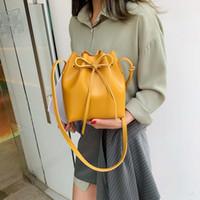 ingrosso sacchetto di messaggero dell'arco coreano-borsa a tracolla semplice moda 2019 nuova marea messenger bag coreano arco JIULIN primavera e l'estate