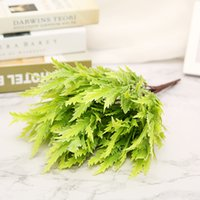 ingrosso piante in vaso di plastica-Simulazione assenzio fiori in vaso pianta fiorisce disposizione della decorazione del salone di plastica
