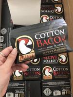 e zigarettenzerstäuber rda großhandel-100% Bio-Baumwolle die neueste COTTON BACON 2.0 Prime Gold-Version für DIY RDA RBA Zerstäuber Heizwendel Draht E Zigarette ecig Vaporizers