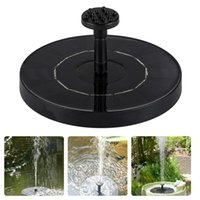Wholesale outdoors water fountains resale online - Mini Solar Fountain Solar Water Fountain Garden Pool Pond Outdoor Solar Panel Garden Decoration