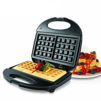вафельные утюги оптовых-750W Электрический чайник Вафли Железный Sandwich Maker Machine Bubble яйцо торт печь завтрак вафельный машина 220