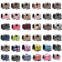 Wholesale dog pet travelling bag for sale - Group buy Pet Travel Carrier for Cats Dogs Soft Sided Pet Travel Bags Oxford Pet Supplies Bag Outdoor WaterProof Handbag