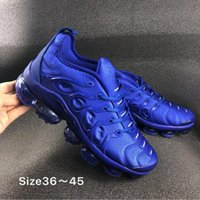 Wholesale games race resale online - 2019 nik TN Plus Game Royal Orange USA Tangerine Mint Grape Volt Hyper Violet Trainers Sports Sneaker Mens Women Running Shoes With Box