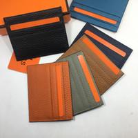 Dünne Männer Clutch Brieftasche Kredit Id Kartenhalter Dünne Geldbörse Bank Card Paket Münztüte Tasche Business Frauen Echt Leder Id Card Fall