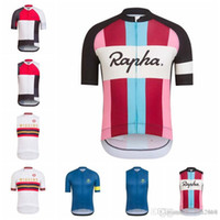 Wholesale short sleeve cycling jersey sale resale online - New Hot Sale RAPHA team Short Sleeves Sleeveless Jerseys Vest Quick Dry Ropa Ciclismo Summer MTB Bike Cycling Clothing F501