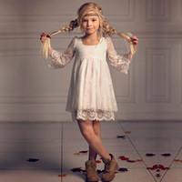 akşam uzun çocuklar giydir toptan satış-Yaz çocuk Prenses Etek Kız Pengpeng Etek performanc Kızın Gelinlik Moda Akşam Elbise Kızın Uzun Etek
