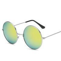 Wholesale glasses hop resale online - 2018 new Sunglases Round novelty sunglasses women hip hop style color lenses retro glasses summer travel trend accessories glass
