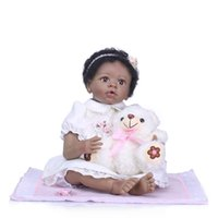 Wholesale Silicone Reborn Baby Doll kids Playmate Gift For Girls Inch Baby Alive Vinyl Soft Toys For Bebe Reborn Brinquedo Gifts