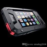 iphone gorille achat en gros de-Coque Gorilla en aluminium antichoc en métal pour iPhone 6 7 8 X XR PLUS