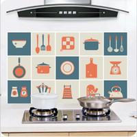 frigoríficos médios venda por atacado-Detalhes sobre 8 Kinds Cozinha À Prova D 'Água Da Telha Decalques Anti-Óleo Lavável Wall Sticker Home Decor Detalhes sobre 8 Kinds Cozinha À Prova D' Água T