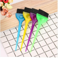 Wholesale hair dye brushes for sale - Group buy 2019 New Fashion Hair Color brush Hairdressing Brushes Salon Dye Tint Tool random color Ideal set for applying color