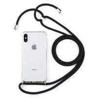 качественные чехлы для мобильных телефонов оптовых-Мобильный телефон цепи защитный чехол для мобильного телефона чехол для мобильного телефона сумка ожерелье ремешок Crossbody в премиум качества iPhone 5 X XR XS max