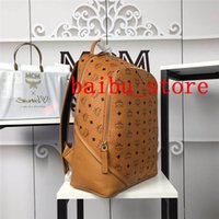 Wholesale school bag trendy for sale - Group buy VICUNA POLO Brand Leather Mens Laptop Backpack Casual Daypacks For College High Capacity Trendy School Backpack Men Travel Bag