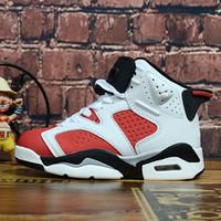 sapatas de j venda por atacado-Nike Air Jordan 6 Meninos das meninas Da Criança Do Bebê Tênis De Corrida De Luxo Designer de Marca Crianças Sapatos J 6 Crianças Menino E Gril Sneaker Esporte Tênis De Basquete