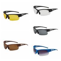 gözlük gözlüğü motosiklet camları toptan satış-Motosiklet Güvenlik Gözlükleri Açık Bisiklet Sürme Gözlük Göz Koruması Araba Motosiklet Rüzgar Geçirmez Böcek geçirmez Spor Güneş Gözlüğü HHA214
