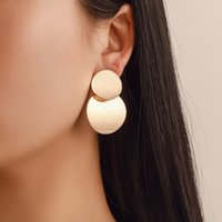 Wholesale fashion modern chandelier for sale - Group buy Fashion Statement Earrings Big Geometric earrings For Women Hanging Dangle Drop Earing modern Jewelry