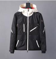 ünlü markalı ceket toptan satış-Fransa ünlü marka adam ceket tasarımcı lüks erkek ceketler klasik basit rüzgar ceket büyük boy gevşek ceket moda fermuarlı cebi toz cek ...