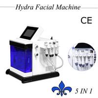 Wholesale whitening spray machine online - Hydrafacial beauty machine Oxygen Spray Hydrafacial skin whitening Hydra Dermabrasion skin care treatment rf wrinkle removal