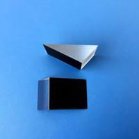 ingrosso fabbrica personalizzata-Triangolare prisma Processing Factory di vetro su misura 105 gradi Laser Specchio Trattamento lente ottica