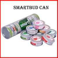 Wholesale 2019 Smartbud cans mm anti leakage container ring pull tin cans Smartbud jar tank dry herb flower for dry herb vape packaging