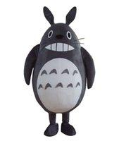 vestido de totoro al por mayor-Disfraz de disfraces de mascota de Totoro Cat My Neighbor de alta calidad para evento de fiesta de Halloween