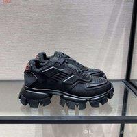 erkek boyutu 39 siyah ayakkabı toptan satış-Yeni Erkekler Için Airs Spor Ayakkabı Eğitmen Koşu Atletik kapalı Koşu Ayakkabıları Kalın taban deri nefes siyah Boyutu 39-43